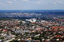 Foto aerea Berlino Immagini Stock