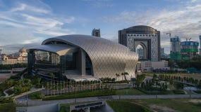 Foto aerea di MITEC, Malesia Immagine Stock Libera da Diritti