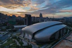 Foto aerea di MITEC, Malesia Fotografia Stock Libera da Diritti