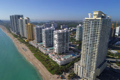 Foto aerea Sunny Isles Beach FL Immagini Stock