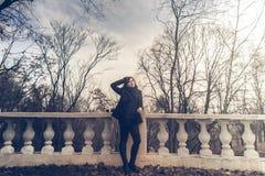 Foto all'aperto della ragazza Immagini Stock
