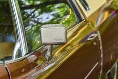 Foto astratta di Eldorado Cadillac fotografie stock libere da diritti