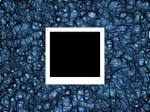 Foto auf abstraktem Blau Stockfotos