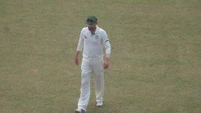 Foto australiana surpreendente do jogador de cricket imagem de stock royalty free