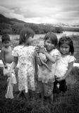 Foto av barn för Ashà ¡ ninka Fotografering för Bildbyråer