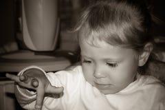 Foto av barnet royaltyfri bild