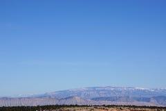 Foto av berg i Colorado Arkivfoton