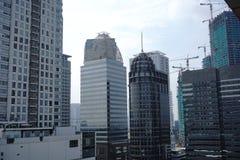 Foto av byggnader och städer Royaltyfri Fotografi