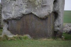 Foto av delen från den Stonehenge monumentet royaltyfri foto