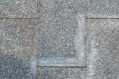 Foto av den fyrkantiga marmortegelplattan Arkivbilder