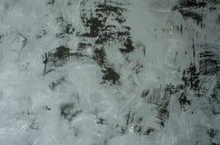 Foto av den gråa betongväggen för texturbakgrund Royaltyfri Foto