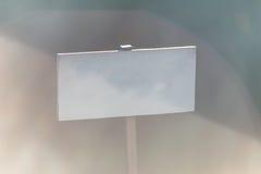 Foto av den tomma vita plattan Royaltyfri Fotografi