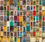 Foto av dörrar Arkivfoto
