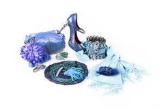 Foto av härligt accesory för ung trendig kvinna Royaltyfria Foton