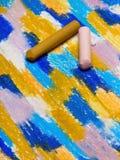 Foto av handteckningen Färgrik textur för bakgrund royaltyfri illustrationer