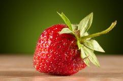 Foto av läckra jordgubbar Arkivfoton