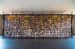 Foto av offer av den Auschwitz koncentrationsläger, Polen Royaltyfri Foto