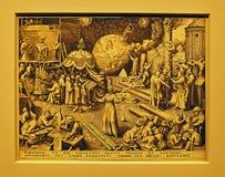Foto av originalet: `-Absolutism` av Pieter BRUEGEL Royaltyfri Bild