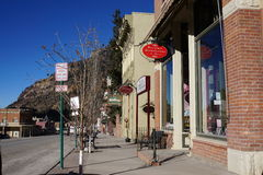 Foto av Ouray, Colorado Arkivfoton