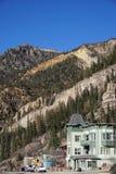 Foto av Ouray, Colorado Fotografering för Bildbyråer