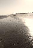 Foto av sandbakgrund Arkivbild
