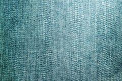 Foto av textur av blå grov bomullstvill royaltyfri foto