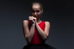 Foto av unga flickan Royaltyfri Fotografi