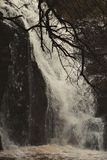 Foto av vattenfallberget arkivbild