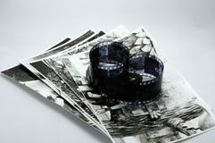 Foto in bianco e nero Immagine Stock