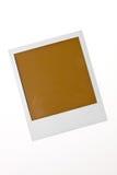 Foto in bianco localizzata del Polaroid con lo spazio del testo Fotografia Stock Libera da Diritti