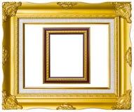 Foto-Bildfeld der alten Art goldenes Stockbild