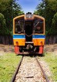 Foto bonita do trem diesel tailandês público Imagem de Stock