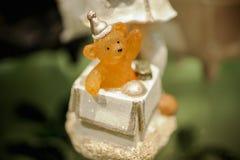 Foto bonito das estatuetas do brinquedo do urso Foto de Stock