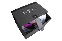 Foto-box black Royalty Free Stock Photo