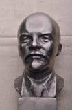 Foto brąz Lenin, portret Zdjęcie Stock