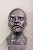 Foto brąz Lenin, portret Zdjęcia Stock