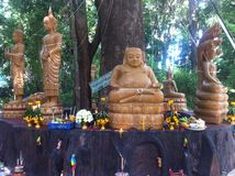 Foto-Buddha-Tempel Stockbild