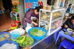 Foto común - comida de la calle de los tallarines Imagenes de archivo