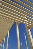 Foto común de la construcción de madera Foto de archivo libre de regalías