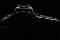 Foto común oscura/imagen de la cámara moderna profesional de DSLR Foto de archivo libre de regalías