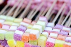 Foto común - primer de caramelos mezclados imagen de archivo