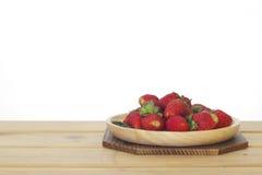 Foto común: Todavía vida con las fresas frescas Fotos de archivo libres de regalías