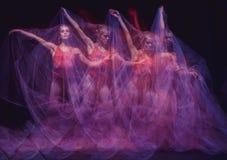 Foto como a arte - uma dança sensual e emocional de Fotografia de Stock Royalty Free