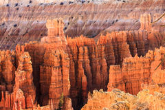 Foto conservada em estoque da formação de rocha vermelha, parque nacional dos arcos Fotografia de Stock