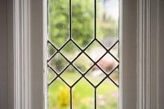 Foto conservada em estoque de um indicador de vidro Leaded imagem de stock royalty free