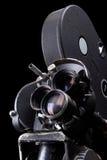 Foto conservada em estoque de uma câmera de filme velha Imagens de Stock Royalty Free