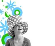 Foto conservada em estoque de uma mulher bonita nova Imagens de Stock