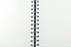 Foto conservada em estoque - Livro Branco do caderno Imagem de Stock Royalty Free