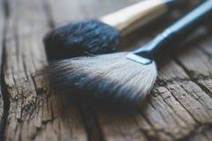 Foto cosmética da escova Imagens de Stock