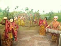 Foto culturale di kalakshetra del sankardev di Srimanta dell'India, l'Assam, illustrazione vettoriale